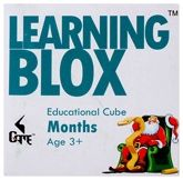 Learning Blox - Months Educational Cube