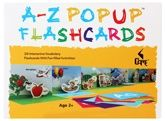 A - Z Pop Up Flash Cards