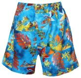 Boxer Shorts with Flower Print
