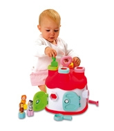 Smoby - Cotoons Assorted Shape House 12Months+, A Perfect Way To Keep Your Baby Engrossed...
