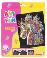 Simba - Art & Fun Horse Sequin Fun - 3Years+