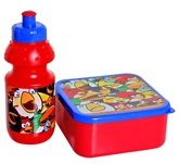 Angry Birds - Red Lunch Box With Water... 3 Years+,  A Combo Of Red Lunch Box And Water Bottle...