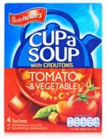 Batchelor's Cup a Soup with Croutons -  Tomato & Vegetable