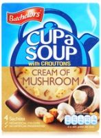 Batchelor's Cup a Soup with Croutons - Cream Of Mushroom
