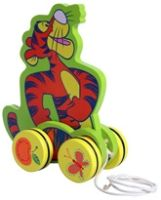 Disney - My Friends Tigger & Pooh Pull Along Toy