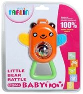 Farlin Little Bear Rattle 3 Months+, Inspires Touch And Helps Build Grip