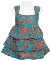 Sleevelees Frock - Flower Print