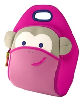 Blushing Monkey Lunch Bag