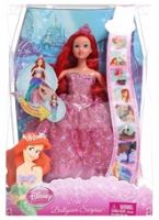 Disney Princess - Ballgown Surprise 2-In-1 4 Years+, 2-in-1 Pink Doll!
