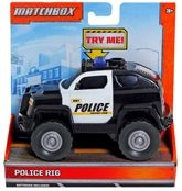 Matchbox  -  Police Rig 3 Years+, The real action trucks are on the job and ...
