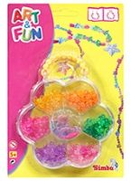 Simba - Art & Fun Flower Shaped Beads Set