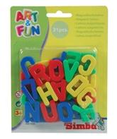 Simba Art & Fun Capital Magnetic Letters -... 3 Years+, 31 Pcs, An Educational Kit