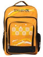 Buy Game-In Orange And Black School Bag