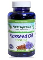 Planet Ayurveda Flaxseed Oil - 1000 mg