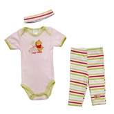 Disney - Winnie The Pooh Bodysuit Leggings and Hair Band Set