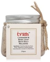 Tvam Lavender & Basil Leaf Bath Salt Relaxing