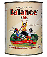 Pristine - Balance Kids Vanilla 400 gm 2Years+, Alpha to omega nutrition for growing kids