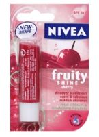 Nivea Fruity Shine Cherry Lip Balm - With SPF 10