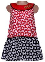 Infancy - Sleeveless Dress with Flower Print
