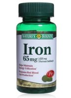 Nature's Bounty Iron  -  65 mg