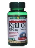 Nature's Bounty Red Krill Oil 1000 mg  -  Omega  -  3