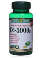 Nature's Bounty Maximum Strength D3 - 5000 IU  