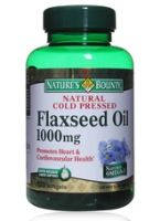 Nature's Bounty Natural Cold Pressed Flaxseed Oil - 1000 mg 