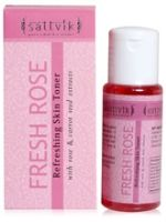 Sattvik Fresh Rose Refreshing Skin Toner
