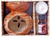 Illuminations Ceramic Oil Burner Set
