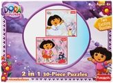 Funskool - Dora The Explorer 2in1 Puzzle 4 Years+, Exciting 2in1 puzzle