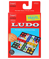Funskool - Travel Ludo 6 Years+, The Game Of Thrills And Chills