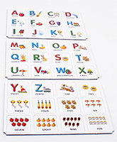 Funskool - Alphabets And Numbers Memory Game - 3 Years+