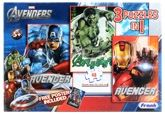Frank - The Avengers 3 puzzles in 1