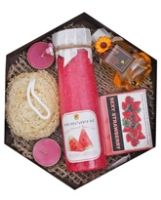 Soulflower Hexagon Watermelon Gift Set