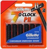 Gillette  - 7 O'Clock PII - Twin Blade Cartridges