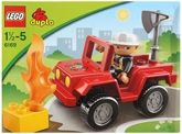 Funskool - Lego Fire Chief 18 Months+, Speed To The Rescue With The Lego Duplo ...