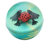 Wild Republic - Ball Large Frog Red Bright coloured attractive frog!