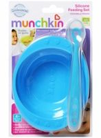 Munchkin Silicone Feeding Set
