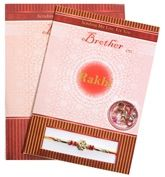 Subh Brother Rakhi With Card