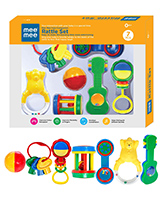 Mee Mee Infant Rattle Set - 7 Piece