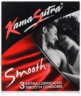Kamasutra - Smooth Extra Lubricated Smooth Condoms