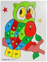 Little Genius Number Owl 1-15