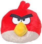 Angry Birds - Red Bird Plush Toy 14 Inches, Soft And Cuddly Plush Toy
