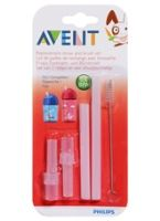 Avent - Replacement Straw & Brush Set