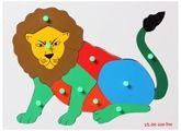 Little Genius -  WOoden Lion Tray Board