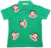 Casual T-Shirt For Boys With Monkey Print