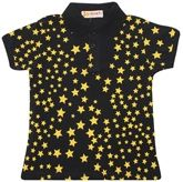Funky Half Sleeves T-Shirt With Star Print