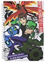 Ben 10 Ultimate Alien Notebook