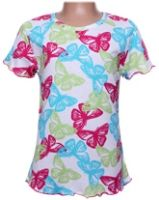Half Sleeves Top - Butterfly