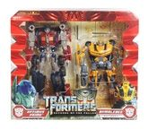 TransFormers® Revenge of The Fallen Autobots Optimus Prime and Bumblebee 5 Years +, Level 3 Advanced Conversion